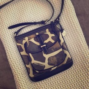 Dooney & Bourke Crossbody Bag in Giraffe Print
